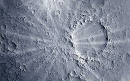 Moon surface Stock Images