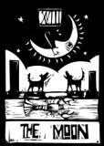 Moon Tarot stock illustration