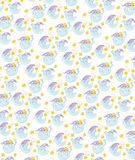 Moon textiles, upholstery pattern. Stock Images