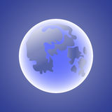 Moon_texture διανυσματική απεικόνιση