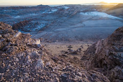 Moon Valley, Atacama, Chile Royalty Free Stock Photo