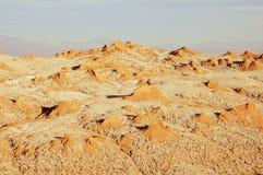 Moon valley in Atacama desert. Stock Photography