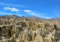 Moon Valley, La Paz, Bolivia Stock Photography