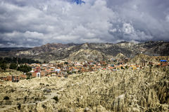 Moon Valley La Paz Royalty Free Stock Images