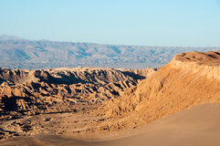 Moon Valley, San Pedro de Ataca Royalty Free Stock Images