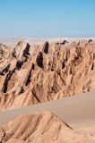 Moon Valley, San Pedro de Atacama (Chile) Stock Photos