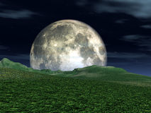 Moon View Stock Photography