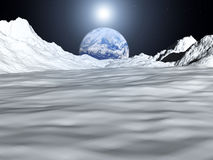Moon View 28 Royalty Free Stock Photo