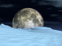 Moon View 4 Stock Photo