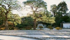 The moon viewing platform at Ginkakuji in Kyoto, Japan Royalty Free Stock Image