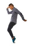 Moon walker dancing Royalty Free Stock Photography