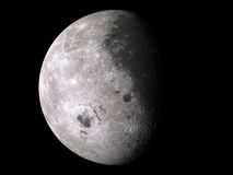 Moon XXL. (Computer generated image. Image map used from open NASA archive vector illustration