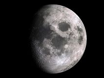 Moon XXL. (Computer generated image. Image map used from open NASA archive stock illustration