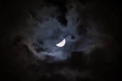 Moon on Yucatan Stock Image