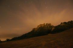 Moonburst und heißes Nightsky Stockbilder