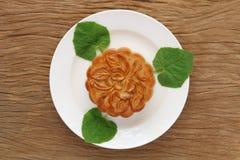 Mooncake для фестиваля стоковое изображение