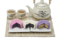 mooncake三 免版税图库摄影