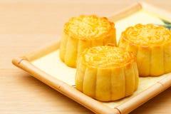 Китайский традиционный mooncake стоковые изображения