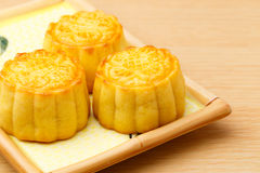 Китайский традиционный mooncake стоковая фотография