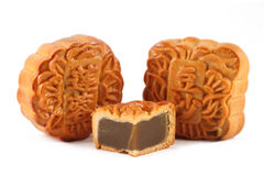 Mooncake Royalty-vrije Stock Foto