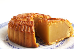 Mooncake stock foto's