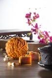 Mooncake Imagens de Stock