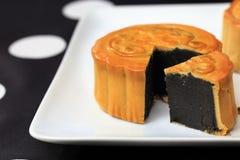 Mooncake Royalty-vrije Stock Foto's