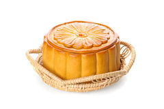 Mooncake royaltyfri bild
