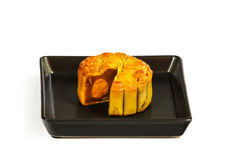 Mooncake Foto de Stock Royalty Free