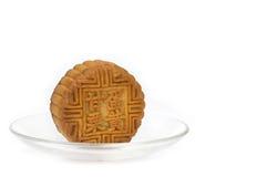 Mooncake chinês Foto de Stock Royalty Free