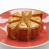 Mooncake. Chinese mid autumn festival food Stock Photo