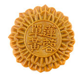 Mooncake chinois Photos libres de droits