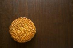 Mooncake kinesisk Mitt--höst festivalefterrätt royaltyfria foton