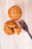 Mooncake for Mid-Autumn fastival Royalty Free Stock Image