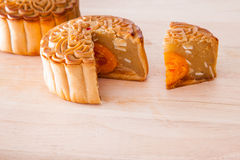 Mooncake for Mid-Autumn festival Stock Photography