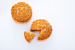 Mooncake for Mid-Autumn festival Stock Image
