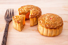 Mooncake for Mid-Autumn festival Royalty Free Stock Image