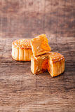 Mooncake for Mid-Autumn festival Stock Images