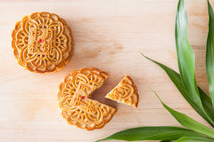 Mooncake for Mid-Autumn festival Royalty Free Stock Photo