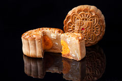 Mooncake for Mid-Autumn festival Royalty Free Stock Photography