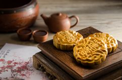 Mooncake Royalty Free Stock Photos
