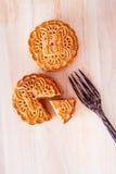 Mooncake per l'Mezzo autunno fastival Immagine Stock Libera da Diritti