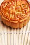 Mooncake tradicional Imagen de archivo libre de regalías
