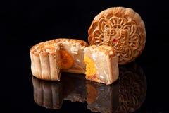 Mooncake voor de medio-Herfstfestival Royalty-vrije Stock Fotografie