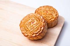 Mooncake voor de medio-Herfstfestival Royalty-vrije Stock Foto