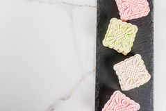 Mooncakes кожи снега Стоковое Изображение