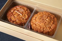 mooncakes Obraz Royalty Free
