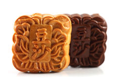 Mooncakes Obrazy Stock