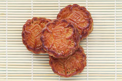 Mooncakes Royaltyfria Bilder