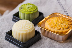 Mooncakes Royaltyfria Foton